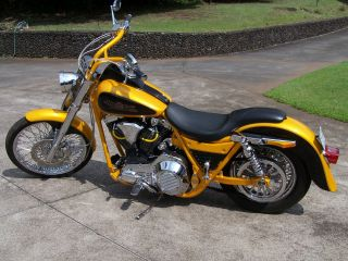 1991 Harler Davidson Fxr Custom photo