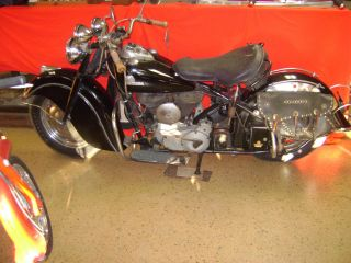 1946 Indian Chief Paint Unrestored Motorcycle photo