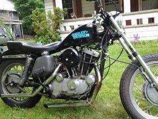 1972 Xlch Harley Davidson Sportster photo