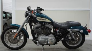 2004 Harley 1200 Sportster Deep Turquoise Blue photo