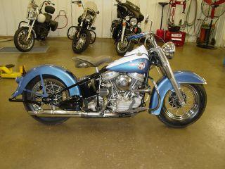 1957 Harley Davidson Panhead photo