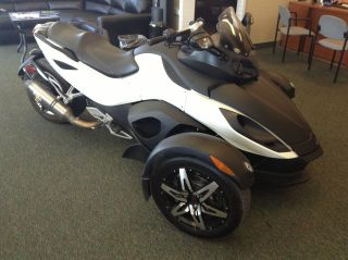 2010 Can - Am Spyder Rss Se5 Special Edition 35 High Adventure Custom Motorcycle photo