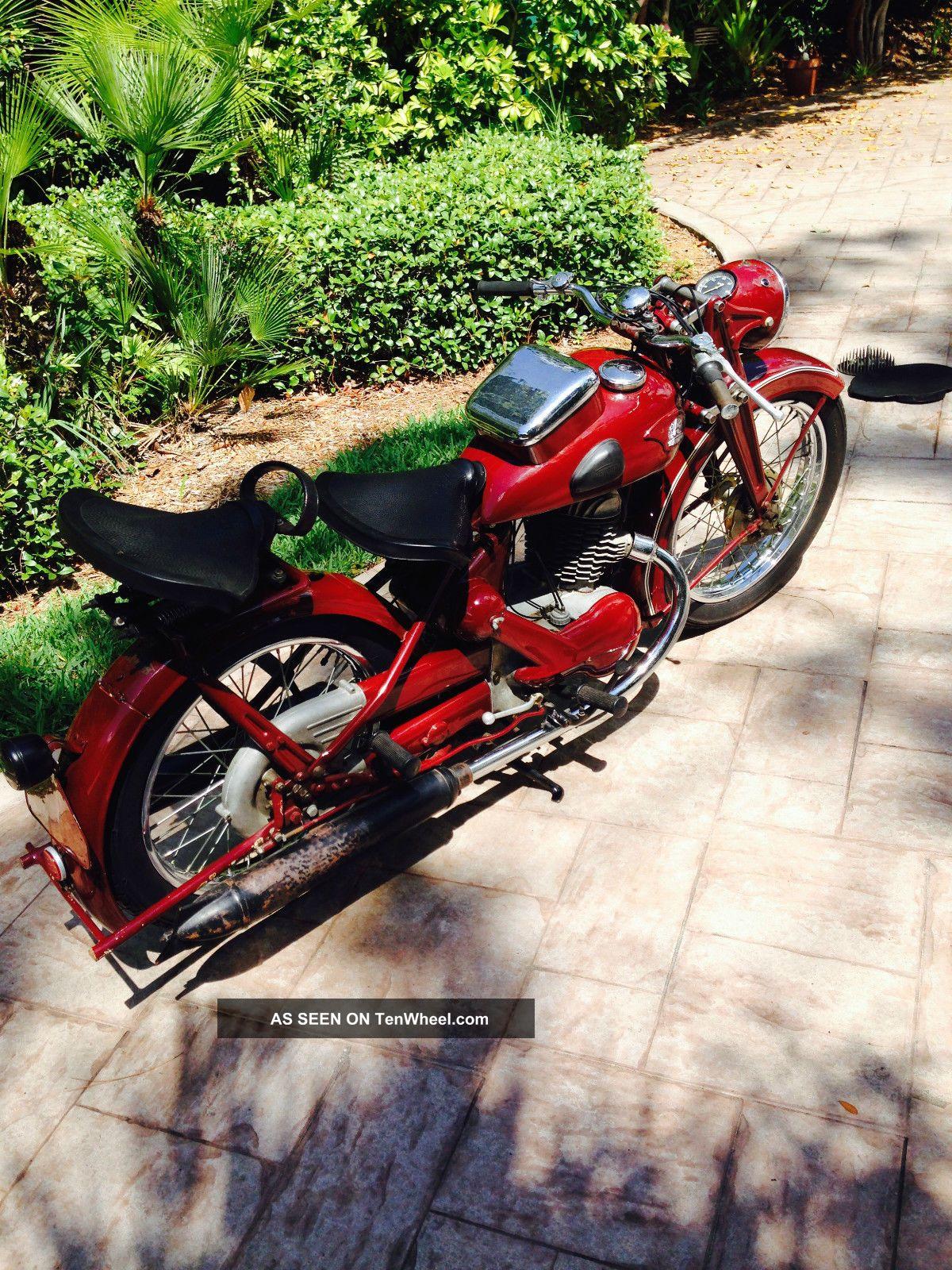 3 Wheel Motorcycle Honda >> Antique German Motorcycle, Triumph Bd 250 / 1942