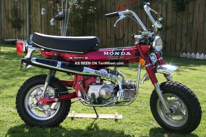 1971 Honda Ct70 4 Speed CT photo