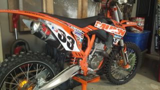 2012 Munn Racing Ktm Sx - F250 photo