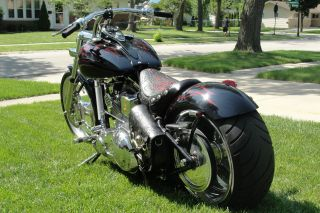 2005 Stunning Frame Pro Street Chopper photo