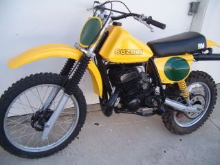 1978 Suzuki Calif Rm400 Vintage Racer Runs+looks Great Newcosmoresto Showbkmaker photo