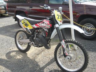 2012 Husquavarna Cr125 Dirt Bike,  Bank Repossesed,  Off Road,  Fast, photo