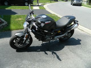 Ducati Monster 696 2011 Black Stealth Color photo