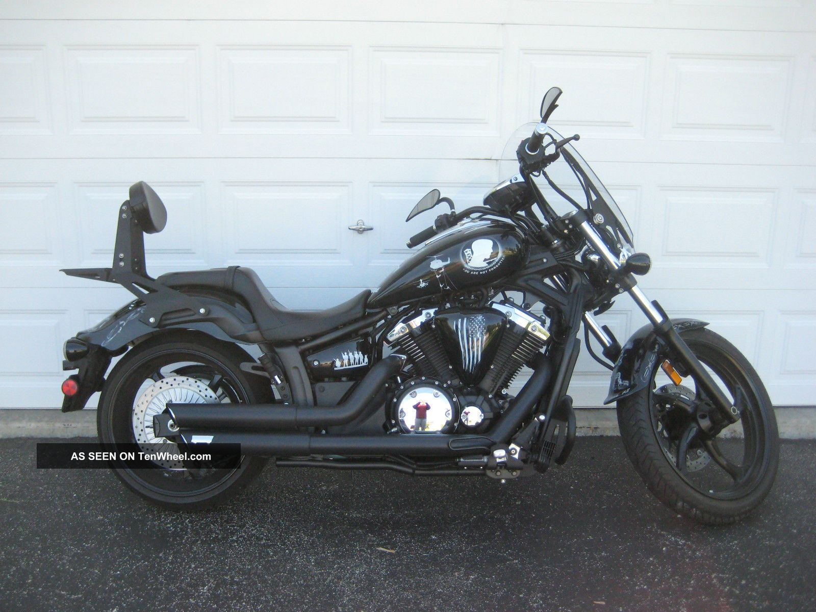 2011 Yamaha Stryker Motorcycle With One Of A Kind Military Pow - Mia Custom Paint Other photo