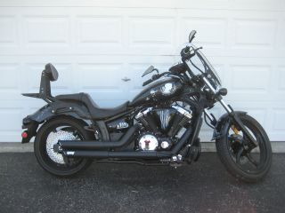 2011 Yamaha Stryker Motorcycle With One Of A Kind Military Pow - Mia Custom Paint photo