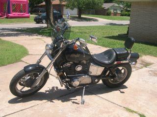 1988 Honda Vt1100 Shadow Motorcycle photo