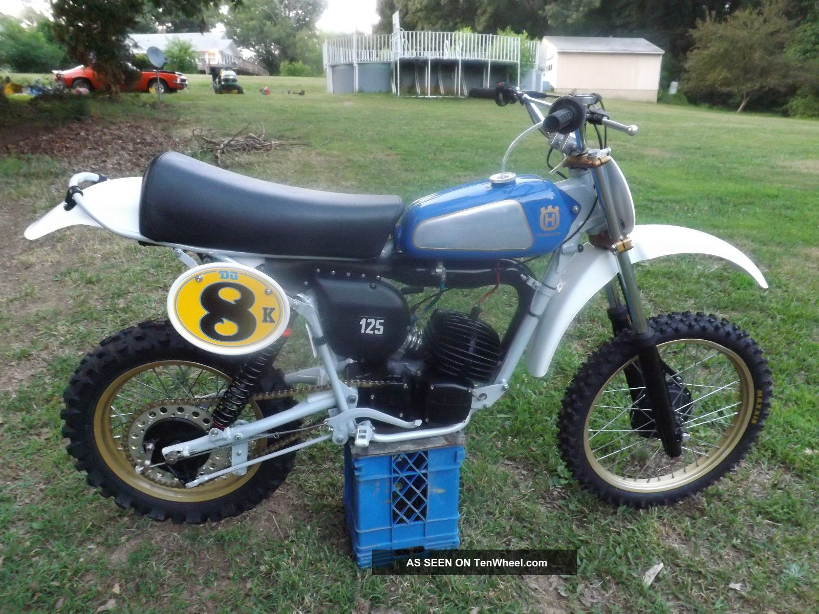 Ahrma Vintage Motocross 1979 Husqvarna Cr125 Husqvarna photo