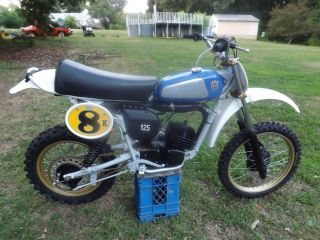 Ahrma Vintage Motocross 1979 Husqvarna Cr125 photo