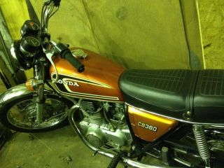 1974 Honda Cb360 photo