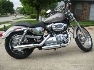 2007 Harley Davidson Xl1200c Sportster photo