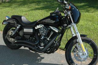 2012 Harley Davidson Dyna Street Bob Abs Security System photo
