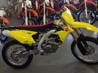 2014 Suzuki Rmz450 Rmz 450 Motocross Racebike Supercross Mx Sx Efi photo