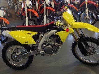 2014 Suzuki Rmz450 Rmz 450 Motocross Racebike Supercross Mx Sx Efi photo