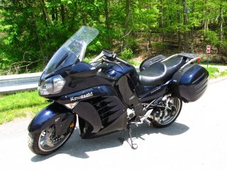Kawasaki Concours Abs 2010 Dark Blue,  Meticulously Maintained,  Extra Tires, photo