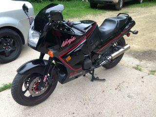 1989 Kawasaki Ninja Zx600r 600r Vintage Sport Bike photo