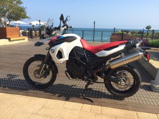 2010 Bmw F800 Gs Anniversary Edition - Red White And Blue - Bought In 2011 photo