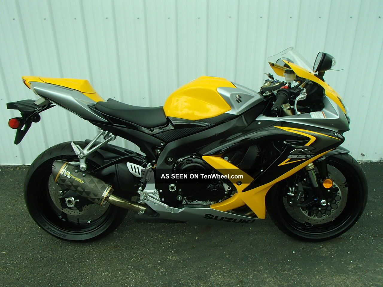 2008 suzuki gsx r 600 yellow um20207rg. Black Bedroom Furniture Sets. Home Design Ideas