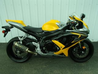 2008 Suzuki Gsx - R 600 - - - Yellow Um20207rg photo