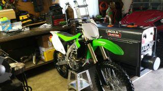 2013 Kawasaki Kx 450f Low Hrs Kxf photo