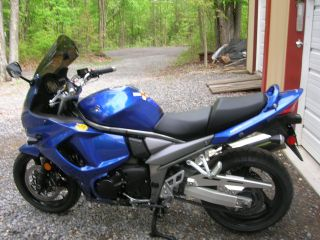 Factory Blue 2012 Gsx - 1250fa Vin Ends In