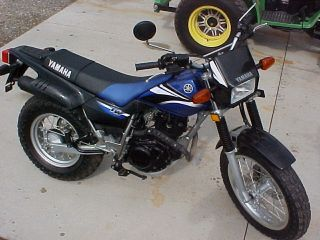 Yamaha Tw 200 E Motorcycle 2006 Enduro Style Motorcycle Dirtbike photo