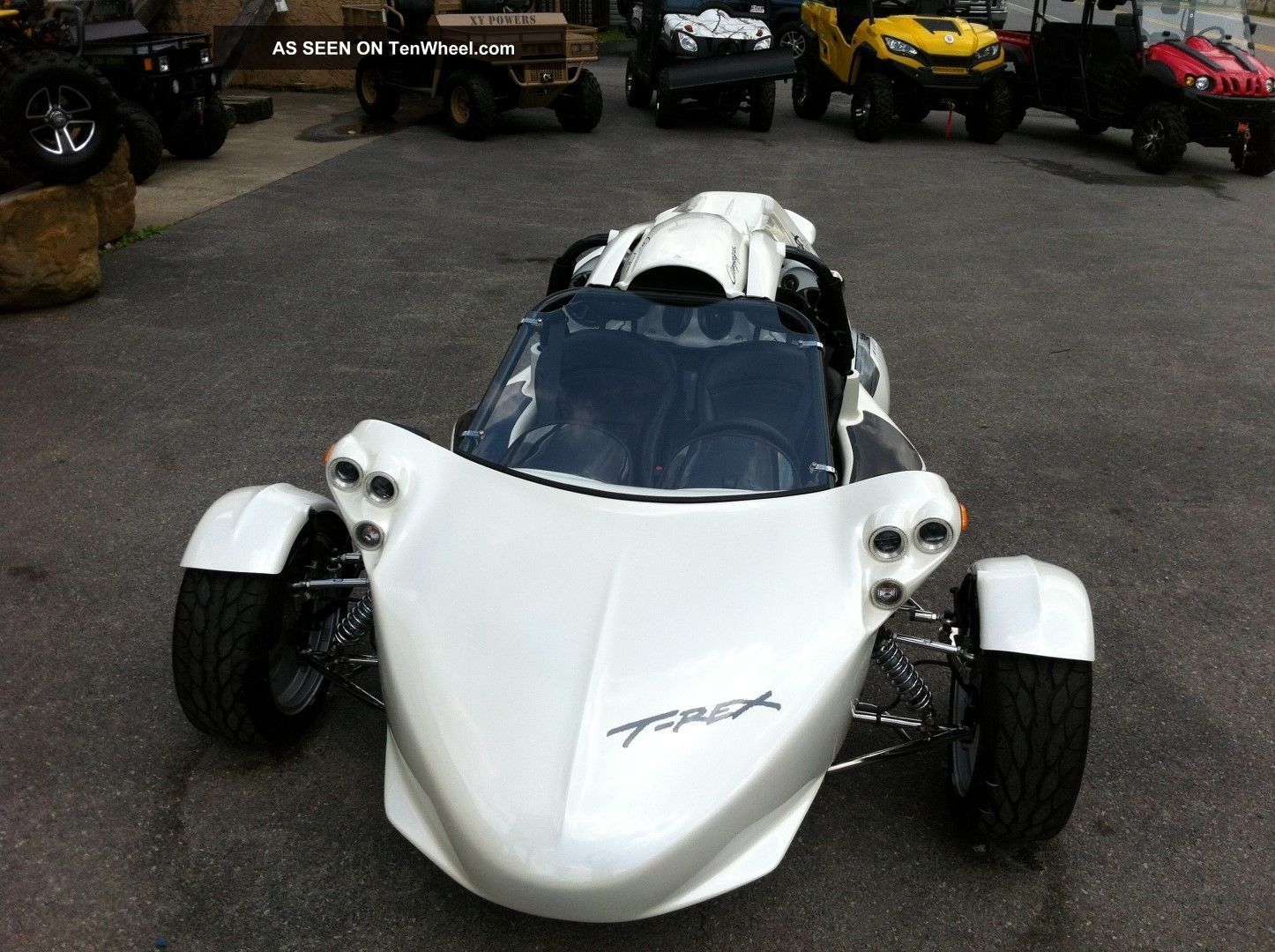2013 Campagna T - Rex14r Pearl - Mist - White Paint Upgrade,  Chrome,  Big Stereo,  200miles Other Makes photo