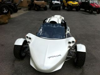 2013 Campagna T - Rex14r Pearl - Mist - White Paint Upgrade,  Chrome,  Big Stereo,  200miles photo