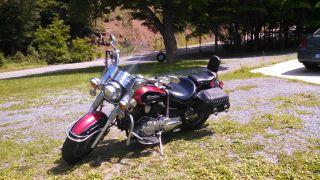 2005 Yamaha Vstar 1100 Classic Silverado photo