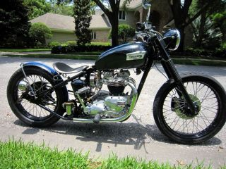 1969 Triumph 650 5 - Speed Bobber photo