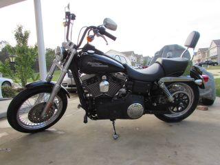 2008 Harley - Davidson Dyna Street Bob Fxdb,  Color Black,  Excellant Condition photo