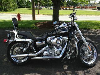 2009 Harley Davidson Dyna Fxdc Glide Custom photo
