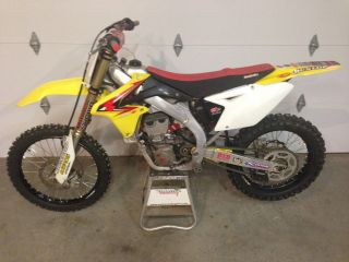 2011 Suzuki Rmz 450 - photo