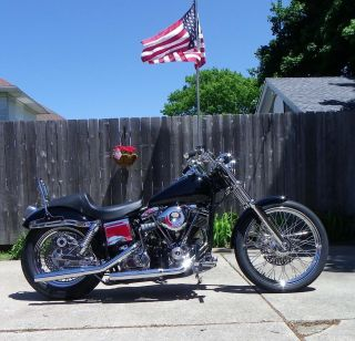 1979 Glide Fxe Shovelhead Mild Custom,  Excellent Cond.  Awesome photo