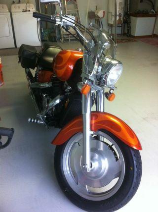 2002 Honda Shadow Vt1100 Sabre Motorcycle photo