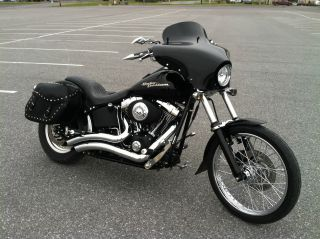 2005 Harley Davidson Softail Night Train Custom photo
