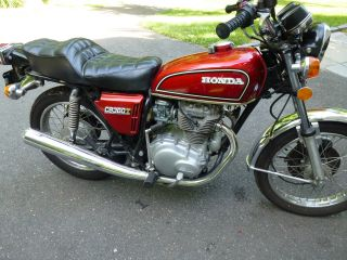 Vintage 1976 Honda Cb 360t photo