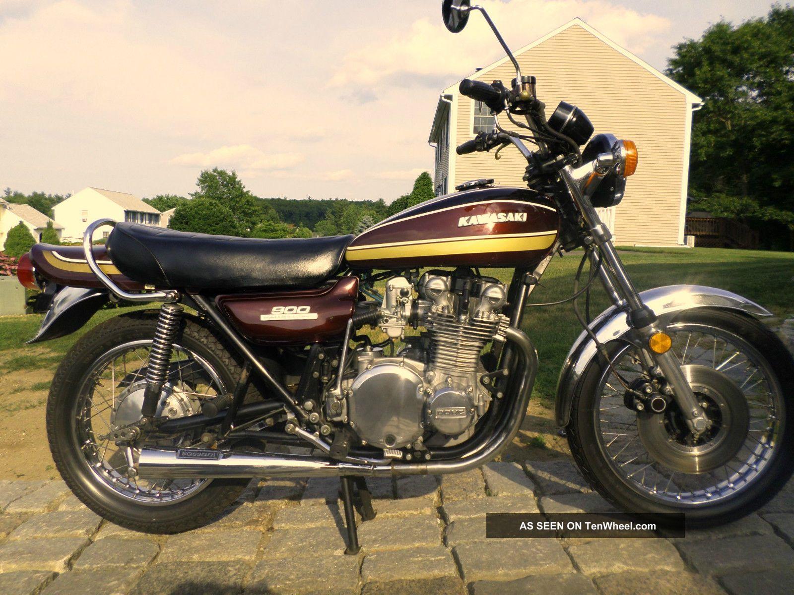 1975 Kawasaki Kz900 Z1 Kz Kz1000 Z1r Mkii 1973 1974 H1 H2