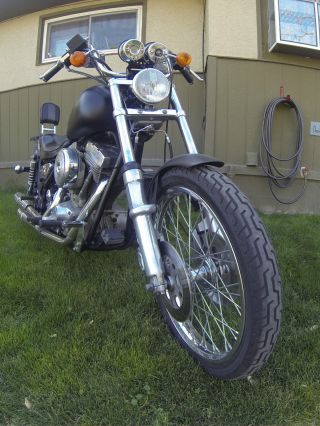 1986 Harley Davidson Glide Sport photo