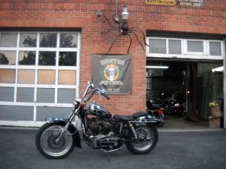 1975 Harley Davidson Xlh 1000 Electric Start Only Matching Engine And Frame S photo