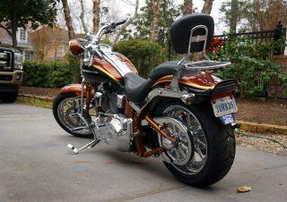 2008 105th Anniversary Harley Davidson Screaming Eagle Soft Tail Springer photo