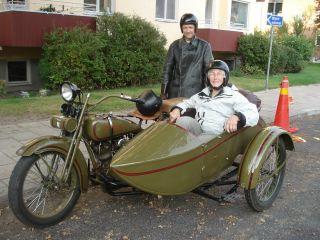 Harley - Davidson 1925 1000cc Je With Sidecar photo