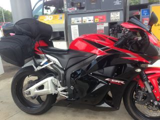 Sportbike - 2011 Honda Cbr 600 Rr - Red / Blk Body - photo