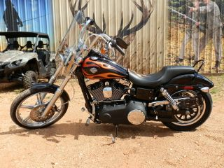 2011 Harley Davidson Dyna Wide Glide Fxdwg. . .  With Flames photo