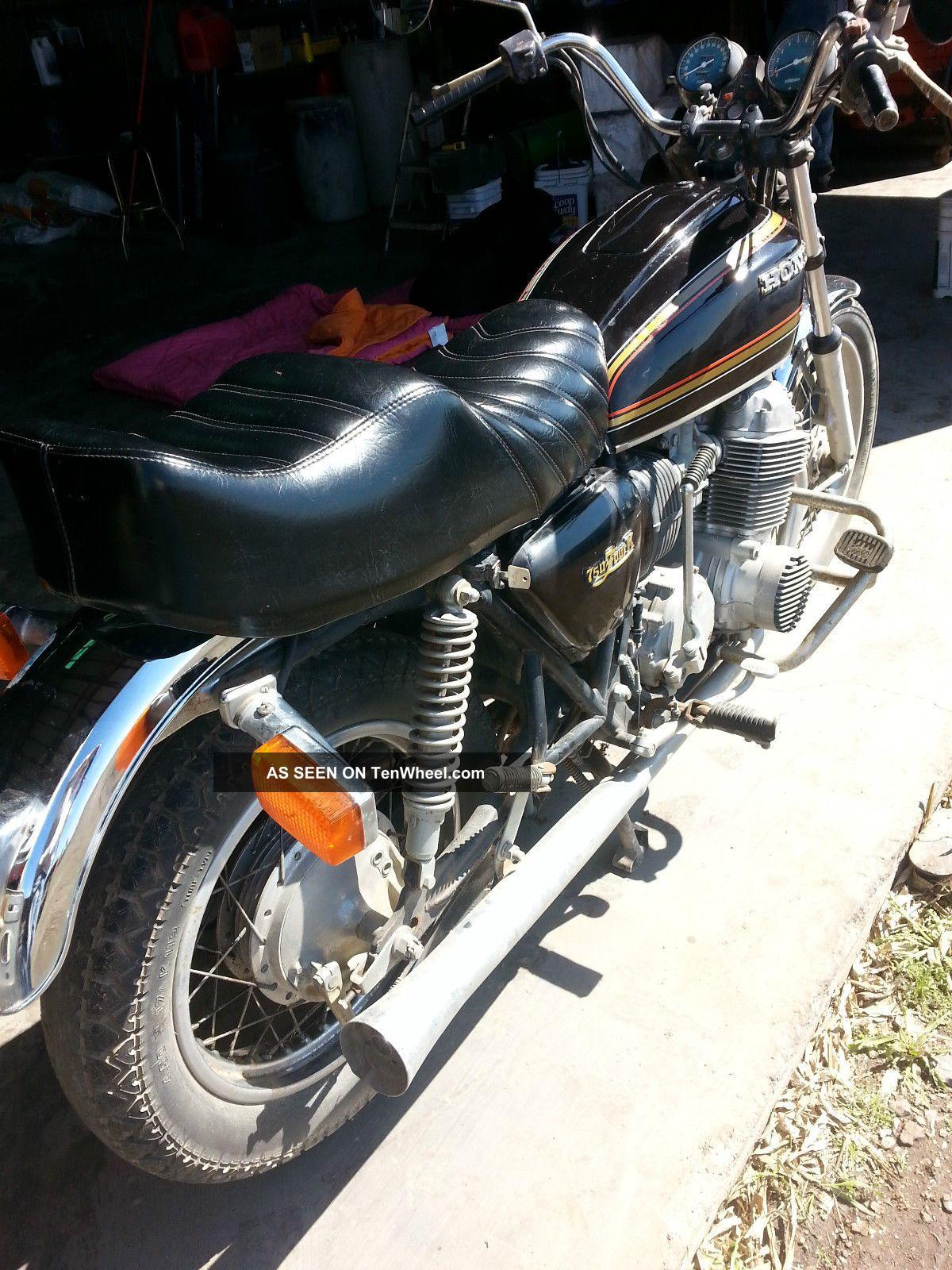 vintage 1977 honda cb 750 motorcycle. Black Bedroom Furniture Sets. Home Design Ideas